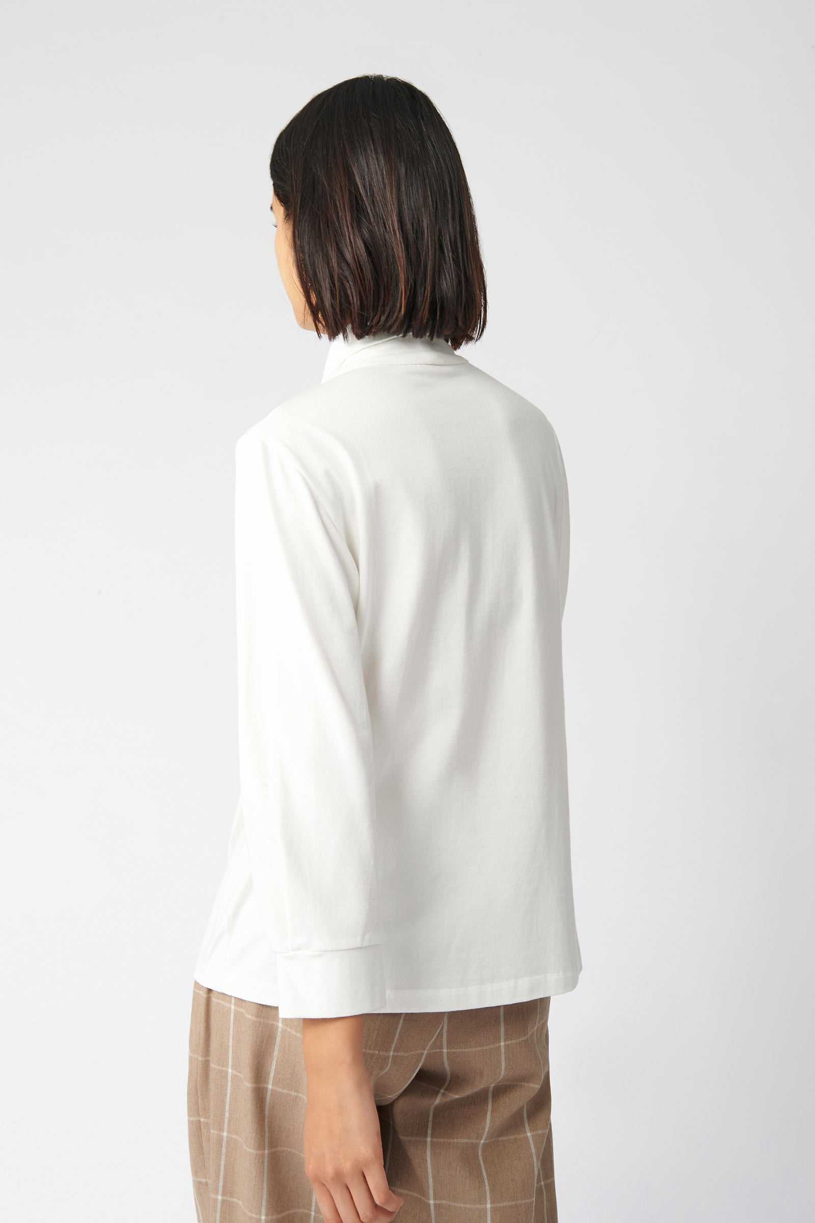 Tie Neck Top - Natural