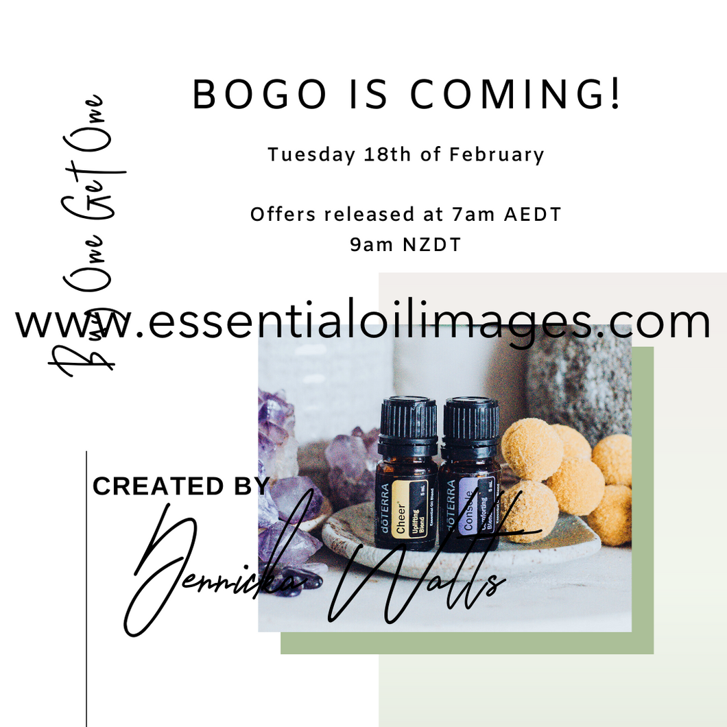 Get Ready for BOGO Graphics - Square Minimalistic Style