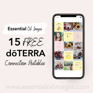 FREE dōTERRA Connection Postables