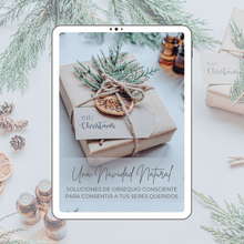 Load image into Gallery viewer, SPANISH - A Natural Christmas Guide - Conscious Gift Giving Solutions