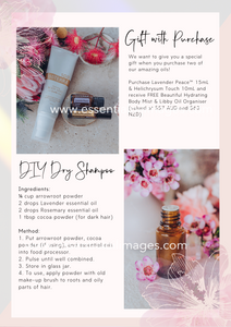 The monthly dōTERRA Newsletter CANVA Template