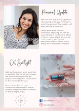 Load image into Gallery viewer, The monthly dōTERRA Newsletter CANVA Template
