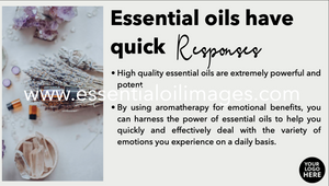 Essential Oils and the Emotions - Online Class Resource Pack