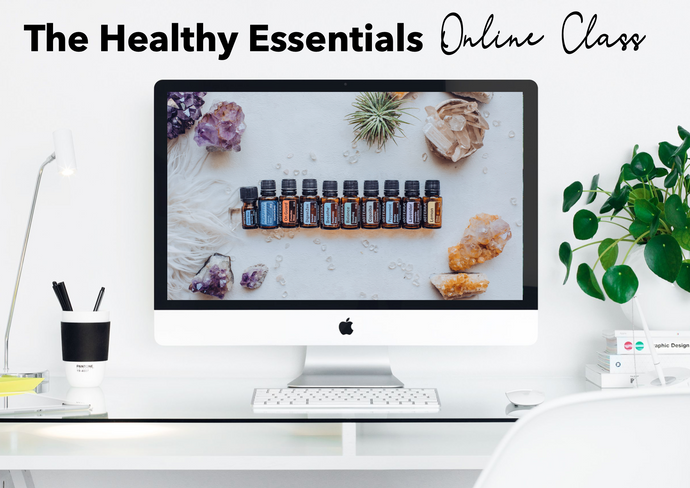 Essential Oils Made Easy - Online Class Resource Pack - US Version