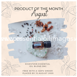 AUS/NZ August Essential Oil Images Graphics Pack