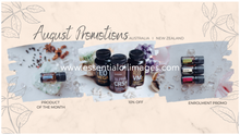 Load image into Gallery viewer, AUS/NZ August Essential Oil Images Graphics Pack