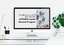 Load image into Gallery viewer, Everything you need to know about the doTERRA Loyalty Rewards Program