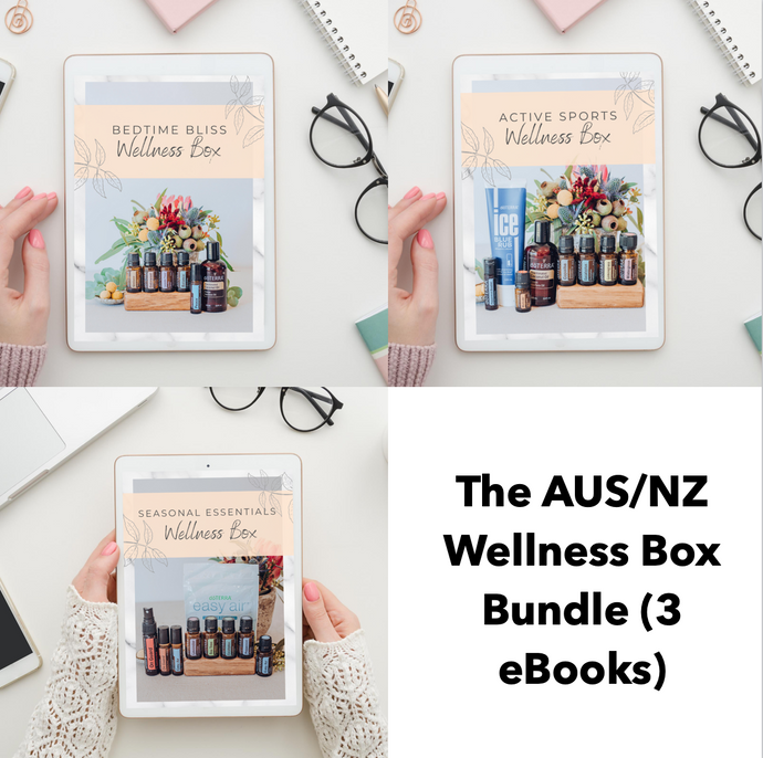 The Floral Abundance Wellness Box Bundle