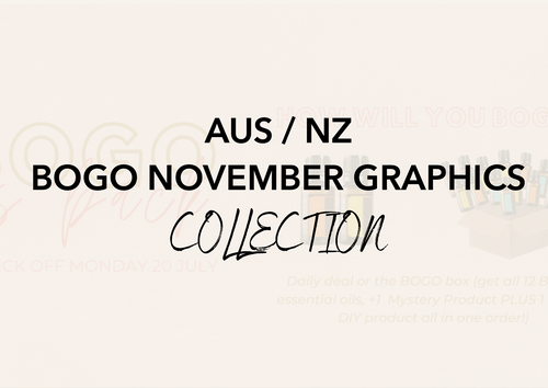 AUS/NZ November 2020 - BOGO Week Graphics