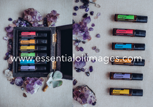The Emotional Aromatherapy Touch Kit Crystal Collection