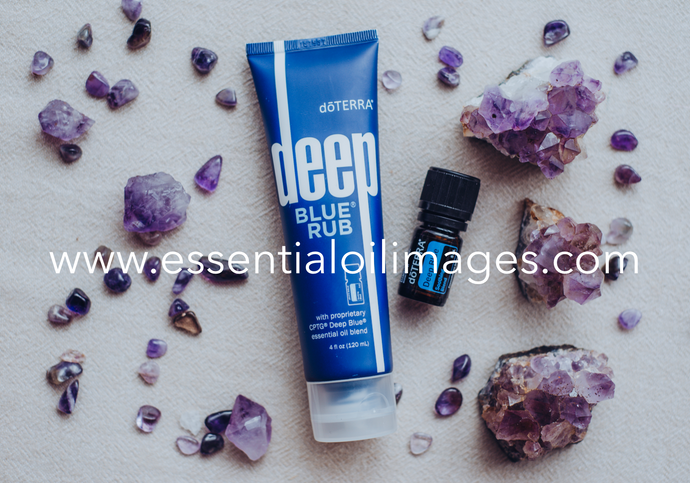 The Deep Blue Crystal Collection
