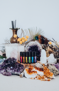 The Glittering Gemstones Emotional Aromatherapy Touch Kit Collection
