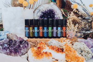 The Glittering Gemstones AUS and US dōTERRA Touch Kit Collection