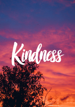 Load image into Gallery viewer, Kindness Sunset Quote Collection