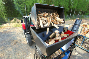 Cleaning firewood tumbler from Hakki Pilke