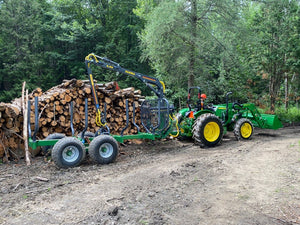 John Deere Log loader