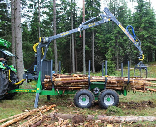 FARMA 4x4 log trailer
