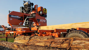 LT70 Super Hydraulic Portable Sawmill