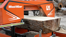 LX150 Twin Rail Portable Sawmill