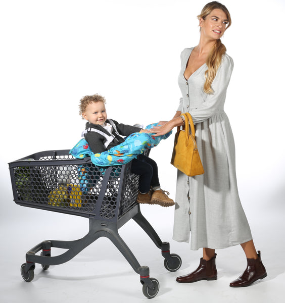 Why Use a Shopping Cart Cover for Babies?