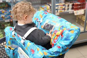 Shopping Cart Covers for Baby - Baby High Chair Cover