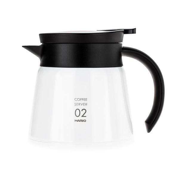 Hario Insulated Stainless Steel Server V60-02 biely