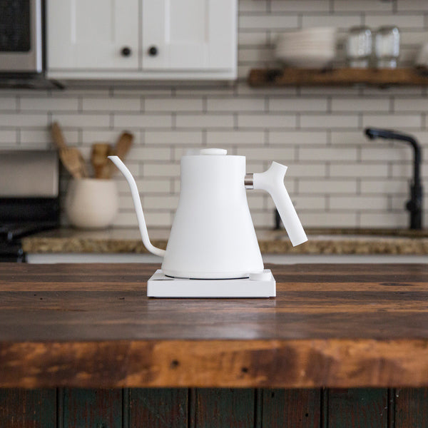 Fellow Stagg EKG - Electric Pour-Over Kettle - Matte White