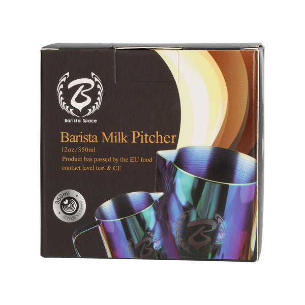 Barista Space - 600 ml SANDY BLACK konvička na mlieko