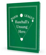 Personalized Children's Book, Major League Baseball's Unsung Hero, Personalized Book