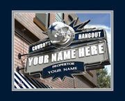 Dallas Cowboys Pub Print - NFL Gift