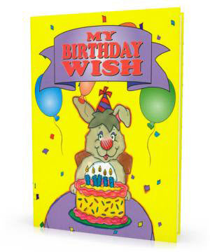 My Birthday Wish, Personalized Book For Kids