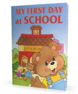 Personalized Children's Book, My First Day at School, Kid's Storybook - Connie's Personalized Music, Books & More