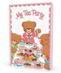 Personalized Children's Book, My Tea Party - Connie's Personalized Music, Books & More