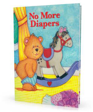 Personalized Children's Book, No More Diapers, Personalized Storybook For Kids - Connie's Personalized Music, Books & More