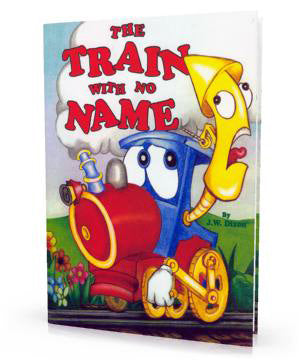 Personalized Children's Book, The Train With No Name Storybook - Connie's Personalized Music, Books & More
