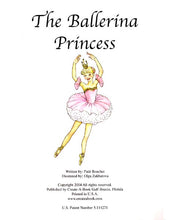 Personalized Book, The Ballerina Princess, Personalized Storybook For Kids