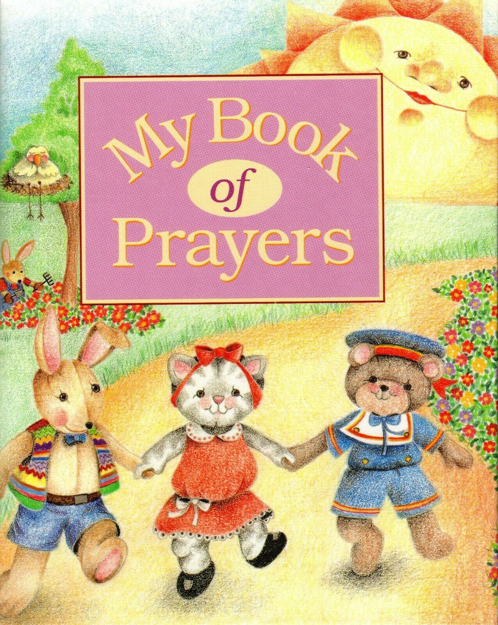 Personalized Children's Book, My Book Of Prayers, A Personalized Storybook