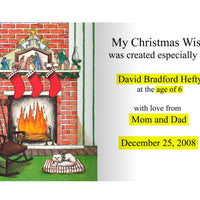 Personalized Children's Book, My Christmas Wish, Personalized Book, A Personalized Storybook For Kids, Kids Book