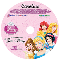 Disney Princesses Personalized Music Cd, Disney Princesses Tea Party - Connie's Personalized Music, Books & More
