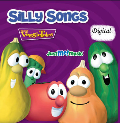 Veggie Tales Silly Songs Personalized Music, Personalized Music, Kids Songs- DIGITAL DOWNLOAD ONLY