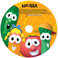 Veggie Tales Sing-a-Long Personalized CD - Connie's Personalized Music, Books & More