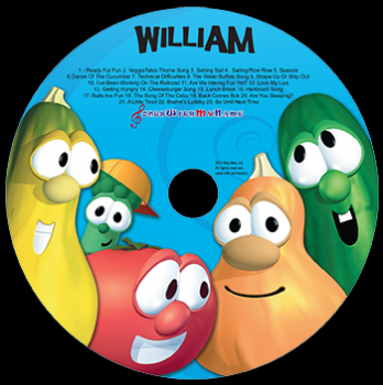 Personalized Veggie Tales