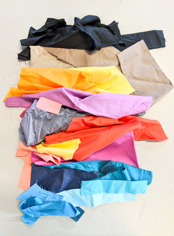 Fabric scraps - A beginners guide to quilting