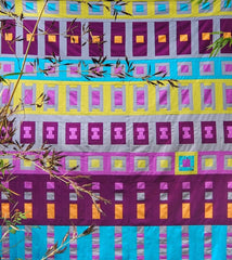 Lopoloko Go Quilt Pattern by Lucy Engels