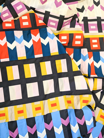 close up of the now quilt - lucy engels