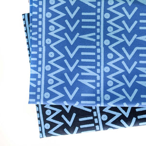 Big Blue Fabric Bundle (10 panels)