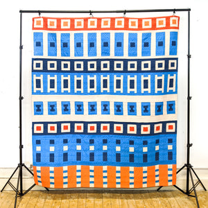 Go - Throw Quilt