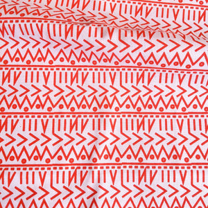 Jaggy Doodle - Handprinted Fabric