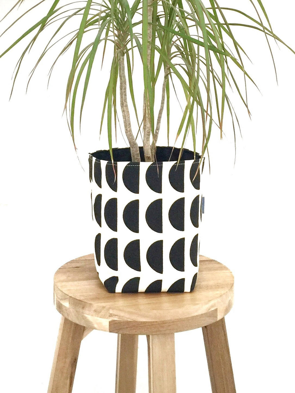 Fabric Basket - Black Pop