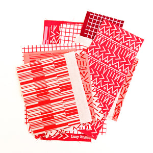 Big Red Scrap Pack (15 pieces)